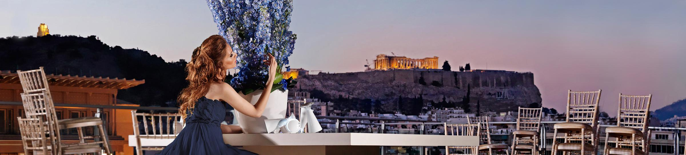 HIGH PRESTIGIOUS EVENTS WITH THE ACROPOLIS ON THE BACKDROP